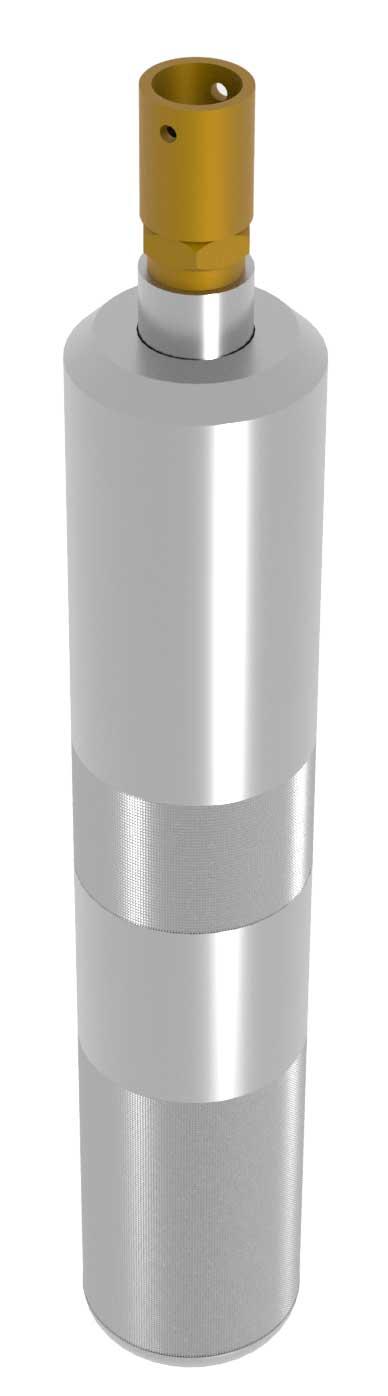 Standard inflating tool for Schrader type inflating valve