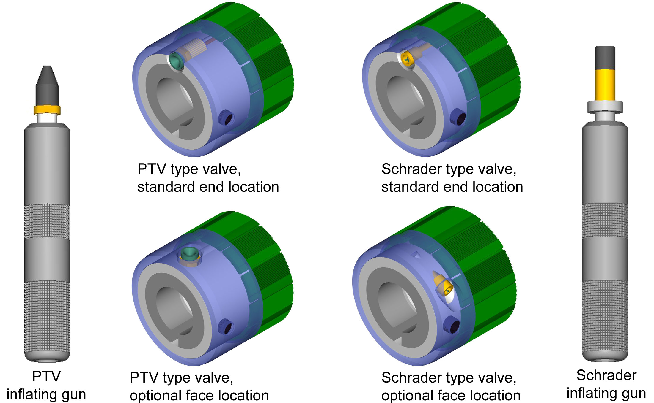 Valve Options for air shafts