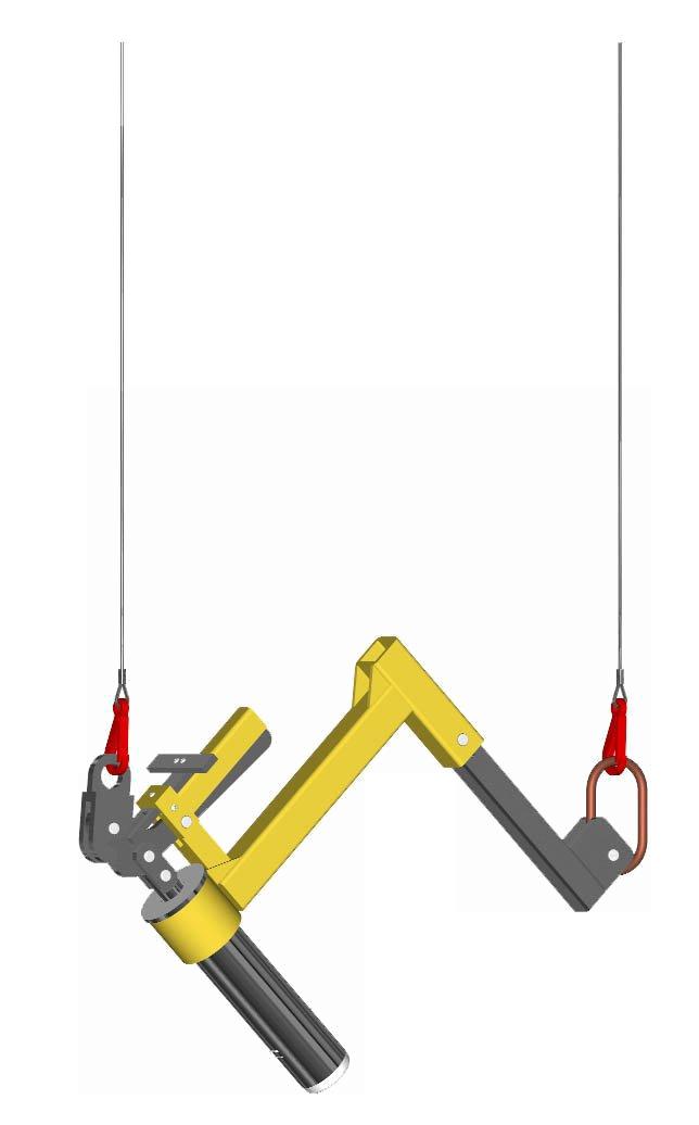 b. Mid-size adjustable L-Roll Pivot Arm